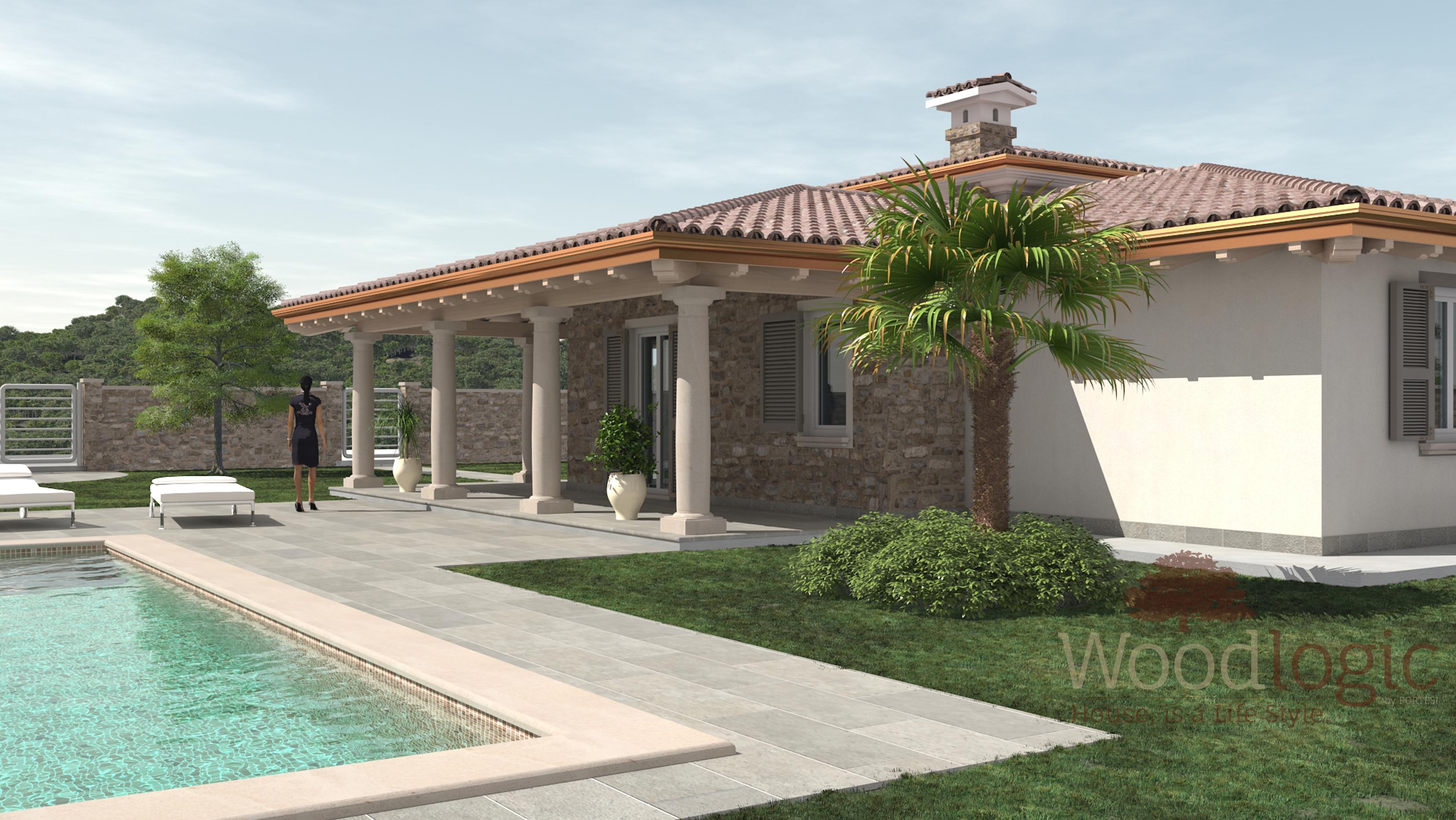 Villa fiordaliso case ecologiche classiche woodlogic for Progetti ville classiche