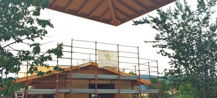 Costruzione nuova casa in X-Lam a Prevalle (BS)